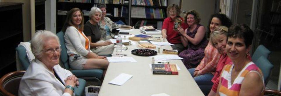 Sisterhood Meeting in TBT Library